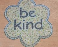 Be Kind Wall Outside